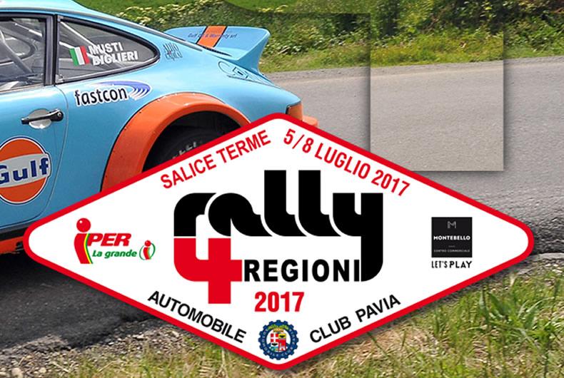 MPM Sponsor del Rally 4 Regioni di Salice Terme