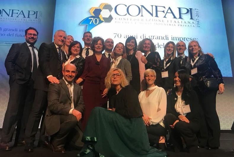 MPM ai 70 anni di Confapi a Roma